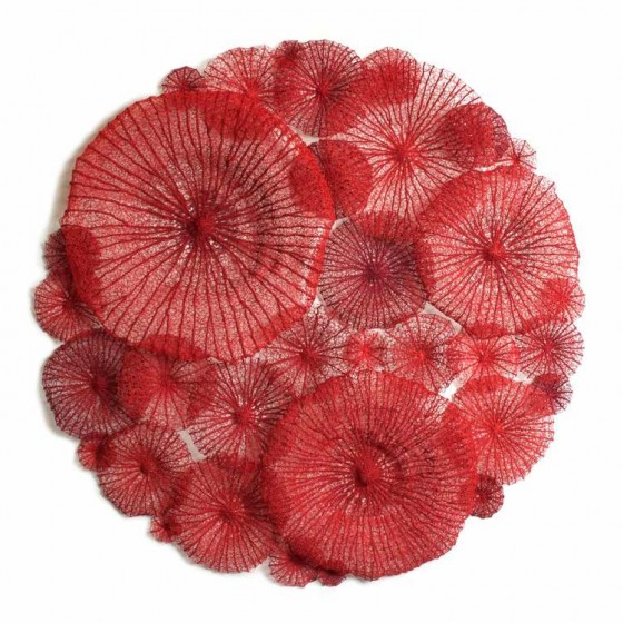Mushrrom-coral-circle-web
