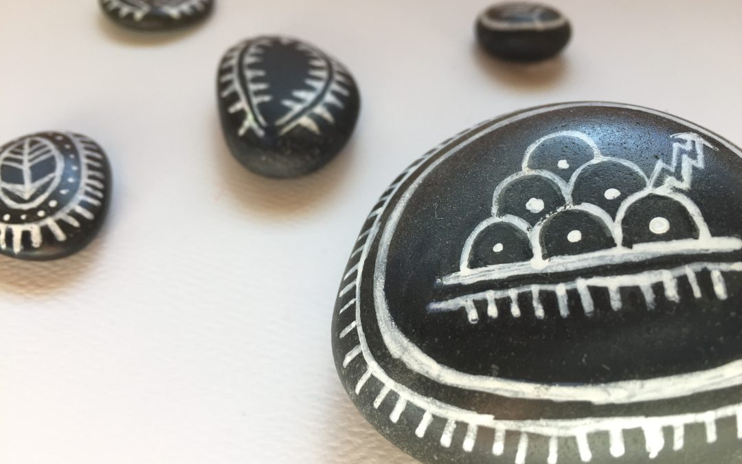 Earth and Sky stones