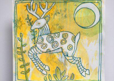 Bouncing Deer